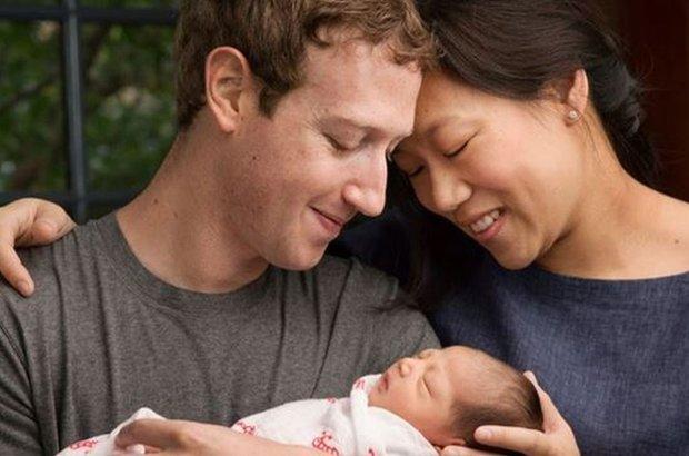Mark Zuckerberg z rodzin�