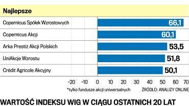 fundusze polskich akcji