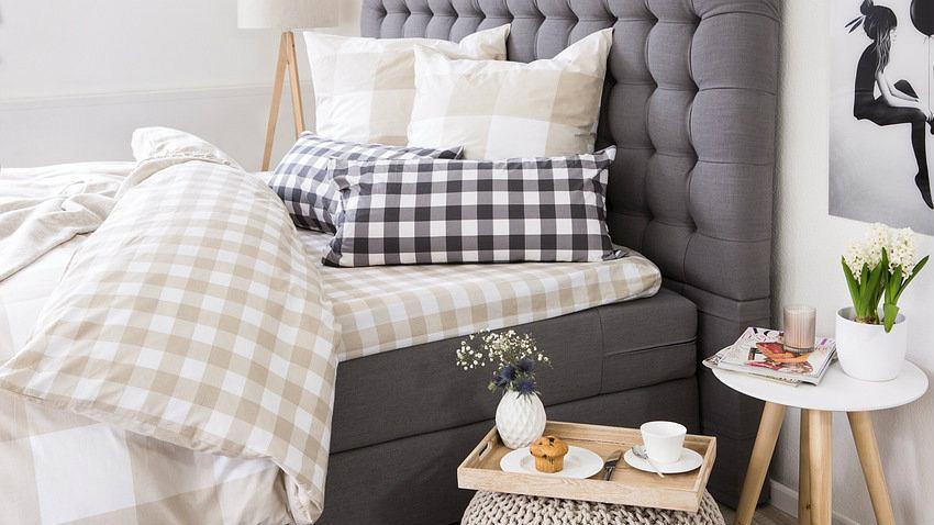 sypialnia w stylu skandynawskim pomys y na aran acj. Black Bedroom Furniture Sets. Home Design Ideas