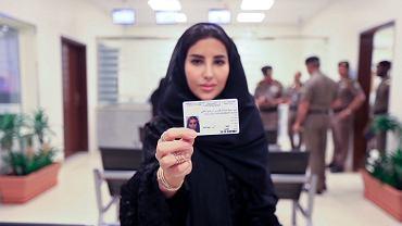 Esraa Albuti, dyrektor w formie Ernst & Young, jedna z pierwszych kobiet w Arabii Saudyjskiej, którym przyznano prawa jazdy