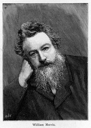 WILLIAM MORRIS  writer, artist, designer SLOWA KLUCZOWE: morris