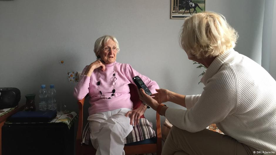 Ursula Mueller (fot. Alexandra Jarecka/Deutsche Welle)