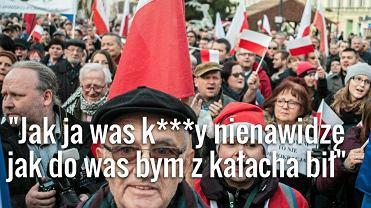 19.12.2015 Bydgoszcz, Stary Rynek. Manifestacja Komitetu Obrony Demokracji