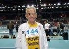 Ma 104 lata, a pobi� w Toruniu sprinterski rekord �wiata