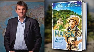 Marek Kamiński i jego książka 'Marek i czaszka jaguara'