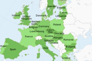 Ile lat przeci�tny Europejczyk musi pracowa�, �eby dorobi� si� miliona? [WYKRES DNIA]