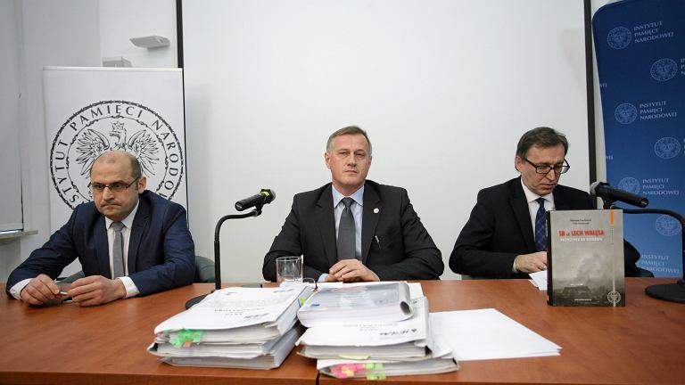 +Konferencja IPN w sprawie teczek TW Bolek'