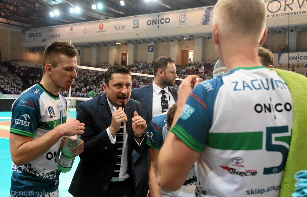 Pożegnanie Pawła Zagumnego w meczu AZS Politechniki