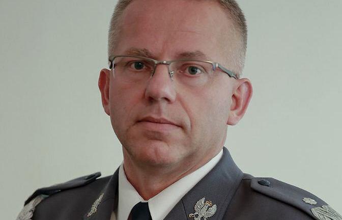 Zastępca KG Policji, nadinsp. Cezary Popłąwski