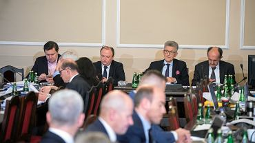 29.11.2017, Warszawa, Sejm. Komisja Sprawiedliwości i Praw Człowieka pracuje nad ustawą o KRS i SN