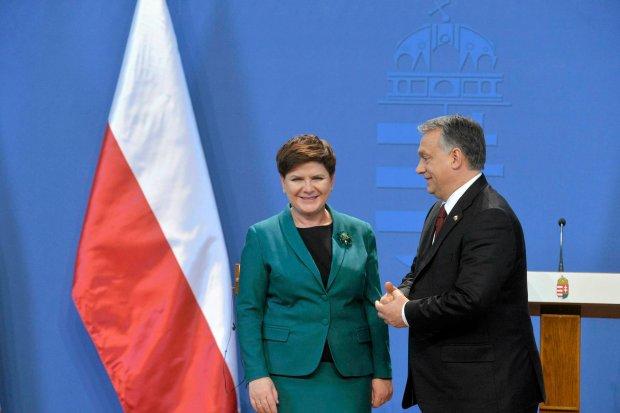 Premierzy Polski i Węgier