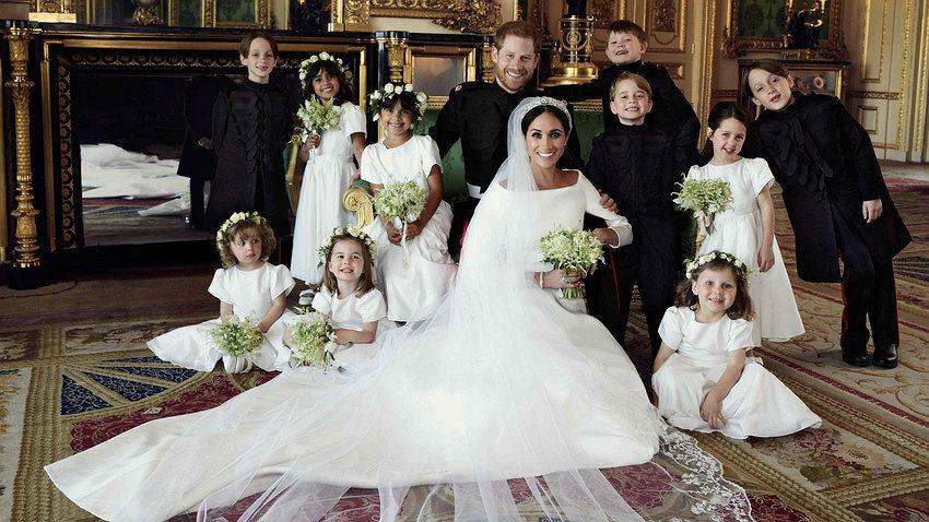 Co Stanie Się Z Suknią ślubną Meghan Markle Zpadła Decyzja Rodziny