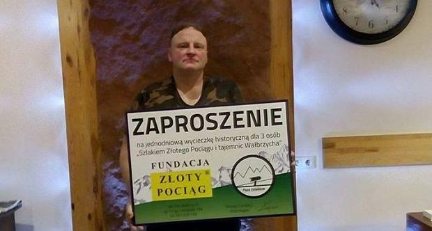 """WOŚP 2018. Wybierz się na wycieczkę z poszukiwaczem """"złotego pociągu"""""""