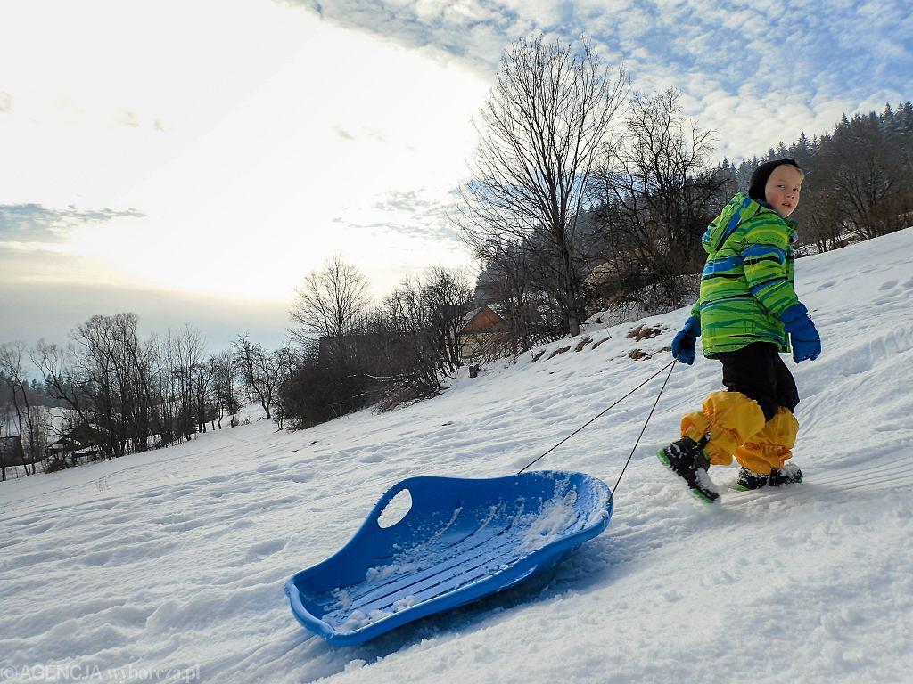 Pogoda w ferie zimowe będzie niestety daleka od 'prawdziwej zimy'