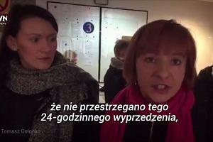 Sejm zamknięty dla obywateli. Przedstawicieli organizacji kobiecych nie wpuszczono do budynku