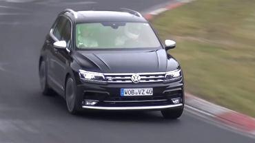 Volkswagen Tiguan R podczas testów