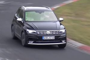 Prototypy | Volkswagen Tiguan R | 300 KM w crossoverze