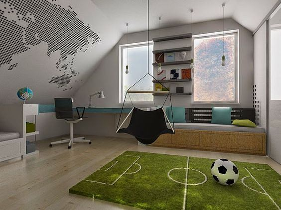 Jak sprawić, by pokój chłopca stał się jego ulubionym miejscem w domu?