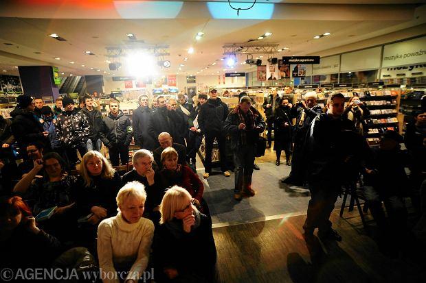Awantura podczas promocji ksi��ki Anny Grodzkiej w Empiku