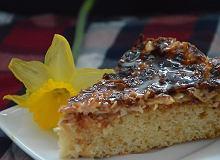 Ciasto z migdałami w karmelu - ugotuj