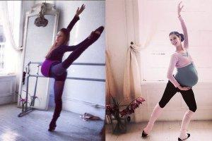 Baletnica odpowiedzialna za trening Aniołków Victoria's Secret ćwiczyła nawet w zaawansowanej ciąży! [ZDJĘCIA]
