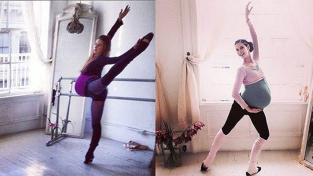 Baletnica odpowiedzialna za trening Anio�k�w Victoria's Secret �wiczy�a nawet w zaawansowanej ci��y! [ZDJ�CIA]
