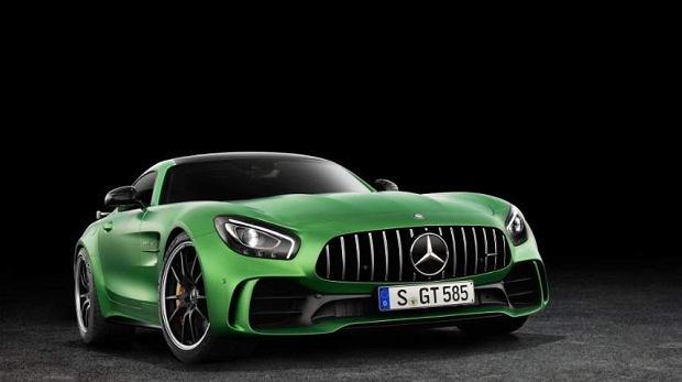 Mercedes AMG GT R | Wyciek | Zielona Bestia bez tajemnic