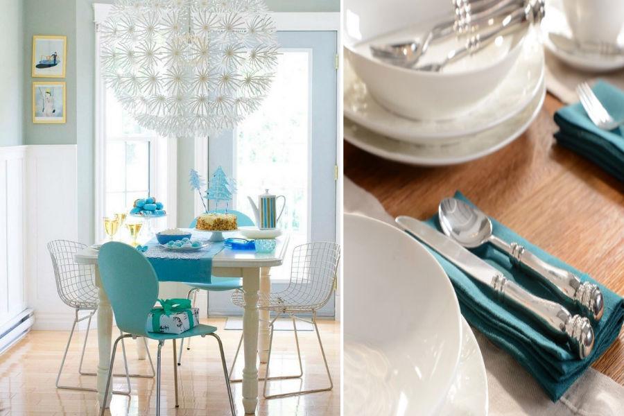 Sztućce i naczynia idealne do jadalni