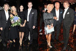 Jan Kulczyk, Joanna Przetakiewicz, Dominika Kulczyk z mężem/ Dorota Soszyńska, Zbigniew Niemczycki, Jan Kulczyk.