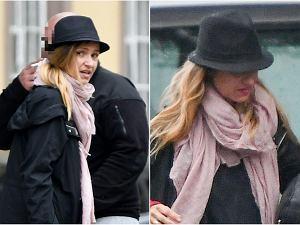 Joanna Koroniewska do niedawna skrzętnie ukrywała fakt, że jest w ciąży. Dopiero niedawno jej agentka przyznała, że aktorka spodziewa się dziecka. Paparazzo zrobił jej zdjęcia na ulicy, w rozpiętym płaszczu. Widać już brzuch? Sami się przekonajcie.