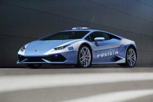 Nowe Lamborghini dla w�oskiej policji