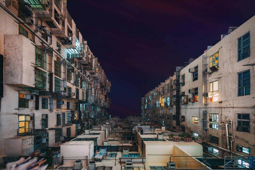 Bloki w Hongkongu