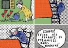 Dziadku, tylko nie spadnij! Rysuje Hanna Pyrzyńska