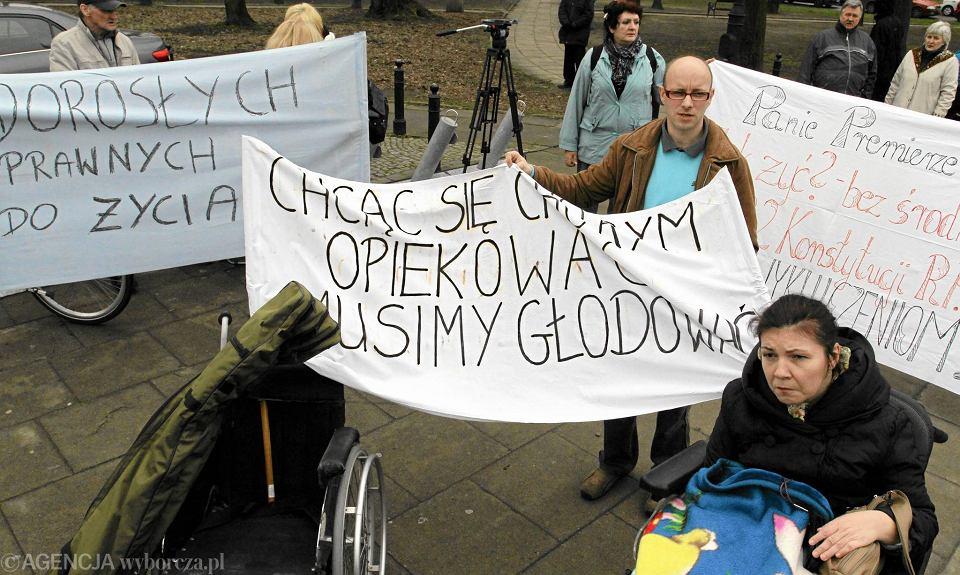 Как протесты инвалидов повлияют на социальную политику в Польше