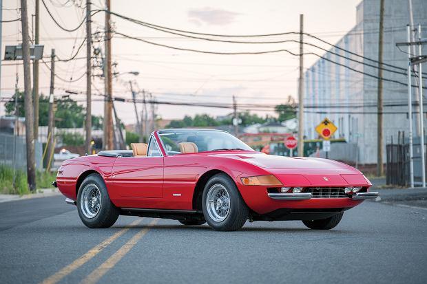 Aukcje | Ferrari Daytona Spider | Samoch�d dla Miami Vice