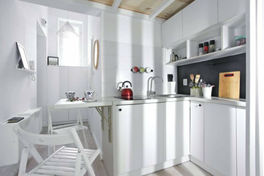 3 Praktyczne rady jak urządzić małą kuchnię