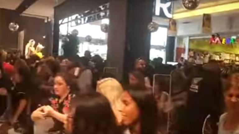 Tłumy na otwarciu sklepu Reserved w Izraelu