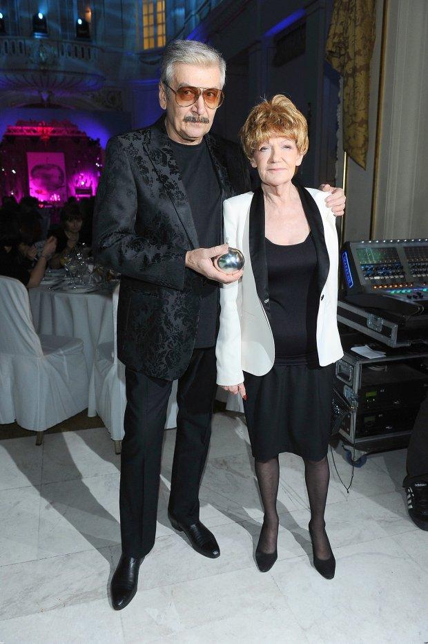 Wojciech Karolak i Maria Czubaszek
