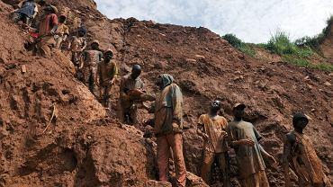 Kopalnia złota w Kongo