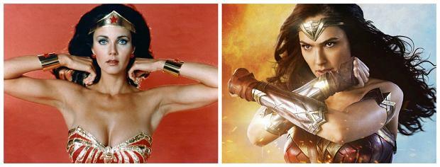 """""""Wonder Woman"""". Gal Gadot wskakuje w strój, który nosiła Lynda Carter"""