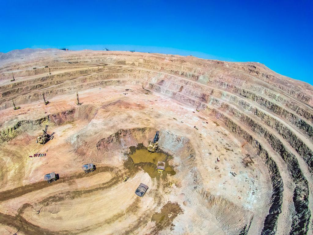 Kopalnia miedzi KGHM Sierra Gorda w Chile - największe zagraniczne przejęcie w historii Polski.