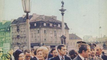 Richard Nixon w Warszawie.