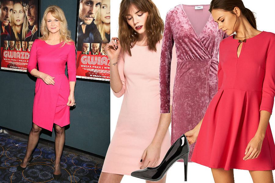 modne sukienki w różowym kolorze