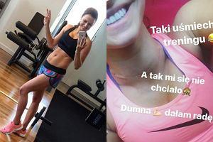 Anna Lewandowska znów pokazała brzuch. Od porodu minęły 2 miesiące