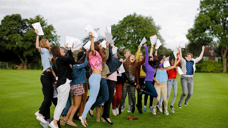 Uczennice Withington Girls School w Manchesterze