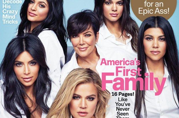Kardashianki na ok�adce Cosmopolitan