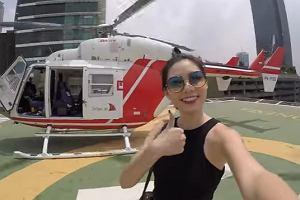 Zamów sobie helikopter i przeleć nad miastem. Uber rusza z nową usługą