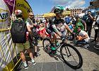 Rafałowi Majce zabrakło dwóch sekund, aby wygrać Tour de Pologne
