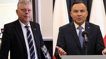 Andrzej Duda i Marek Suski