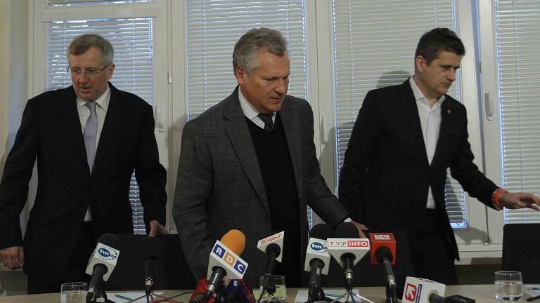 Marek Siwiec, Aleksander Kwaśniewski, Janusz Palikot, czyli Europa Plus